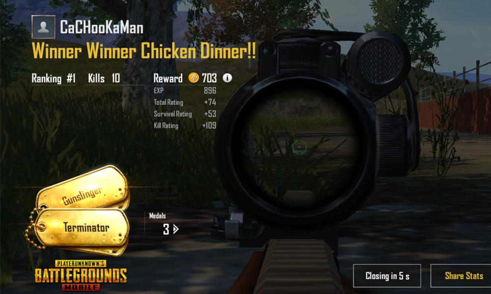 Guide PUBG Mobile di Lingkaran Terakhir (Dijamin Chicken Dinner) 7