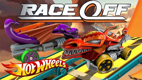Hot Wheels-Race Off