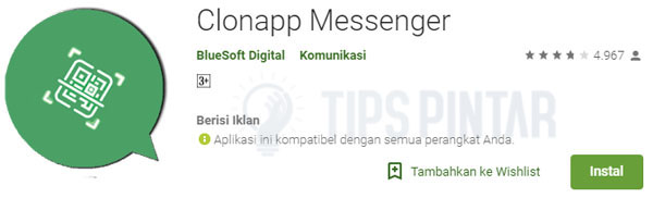 download aplikasi clonapp messenger
