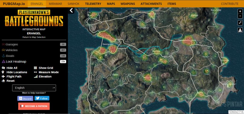 Map PUBG Mobile