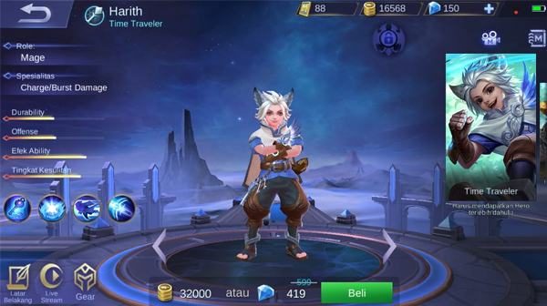 Harith Mobile Legends