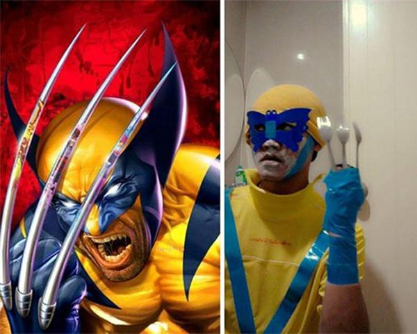 Wolverine Kebanyakan Micin