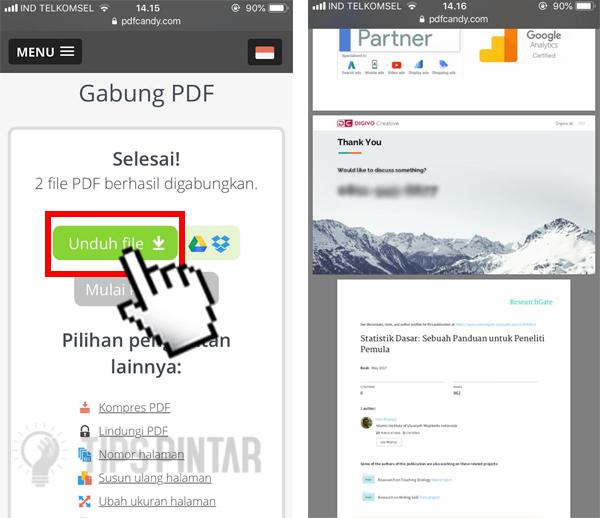 Cara Menggabungkan File PDF Menjadi Satu di Smartphone dan PC