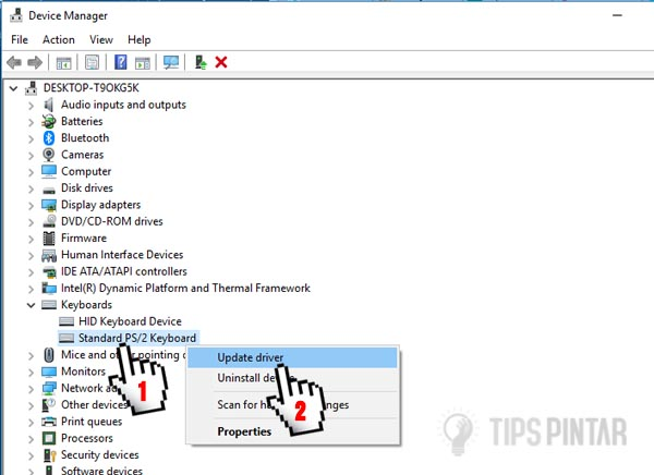 Cara Menonaktifkan Keyboard di Laptop yang Error 10