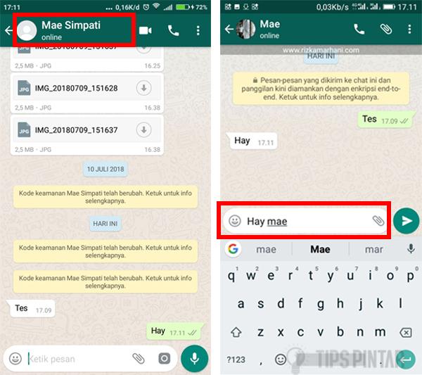 Cara Sembunyikan Status 'Typing' di WhatsApp 16