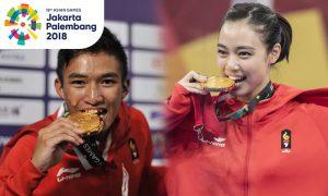 13 Potret Atlet Indonesia Peraih Emas di Asian Games 2018 8