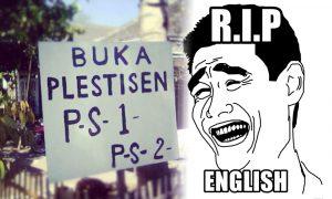 RIP English! 10 Kesalahan Penulisan Bahasa Inggris yang Bikin Ngakak! 10
