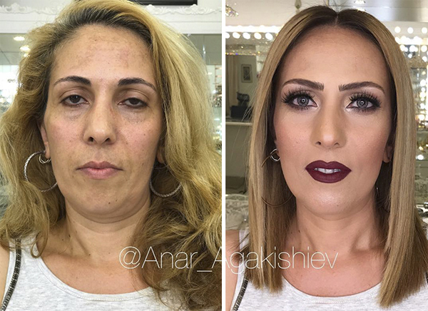 10 Foto 'The Power of Make Up' yang Bikin Kamu Melongo! 9