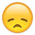 Emoticon Mengerutkan Dahi