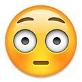 Emoticon Muka Terpukau