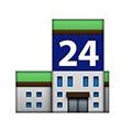 Gedung Dengan Tulisan Angka 24
