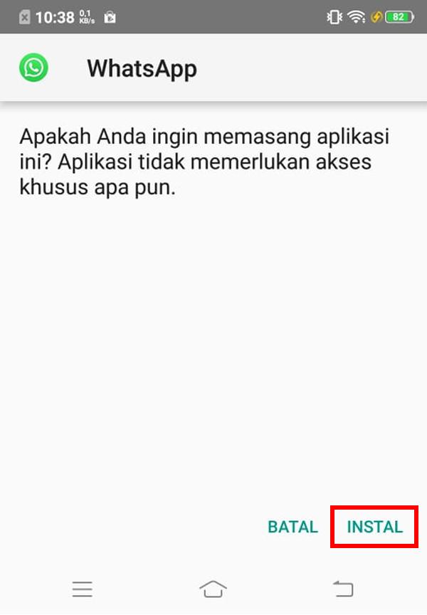 Install Aplikasi GB WhatsApp