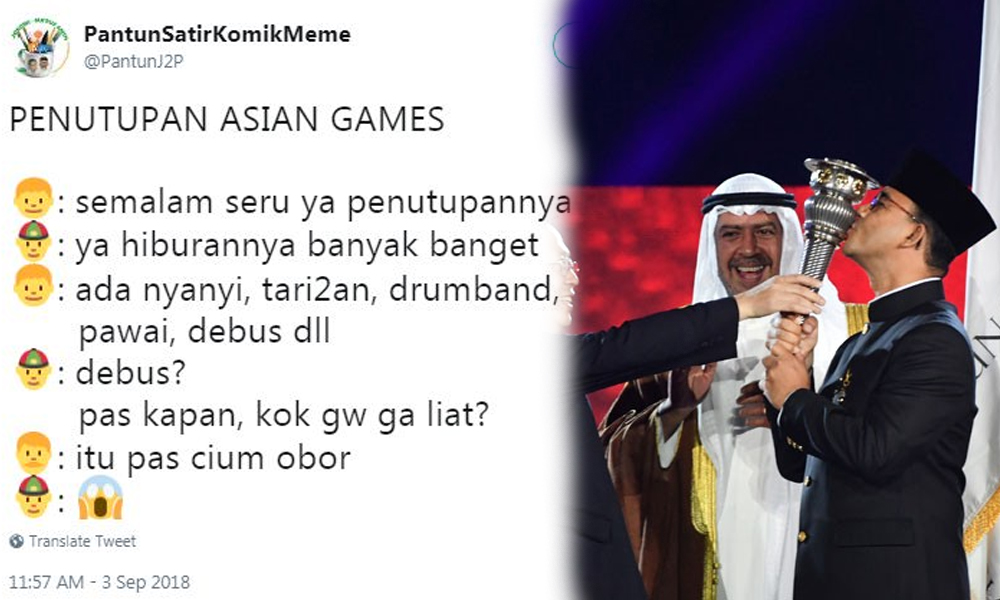 10 Meme Lucu 'Anies Cium Obor' Buat Kamu Nggak Berhenti Ketawa! 6