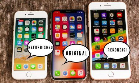 Perbedaan iPhone Refurbished, Original dan Rekondisi 13