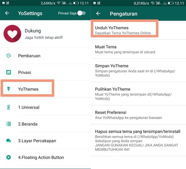 Pilih YouThemes dan Unduh YoThemes