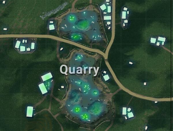 Tempat Loot Terbaik Sanhok - Quarry