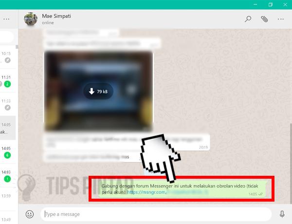 Cara Video Call WhatsApp di Laptop