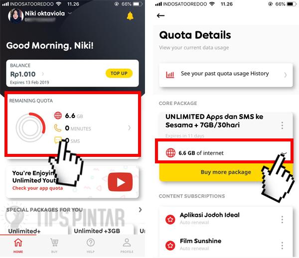 Cara Cek Kuota Internet Indosat IM3