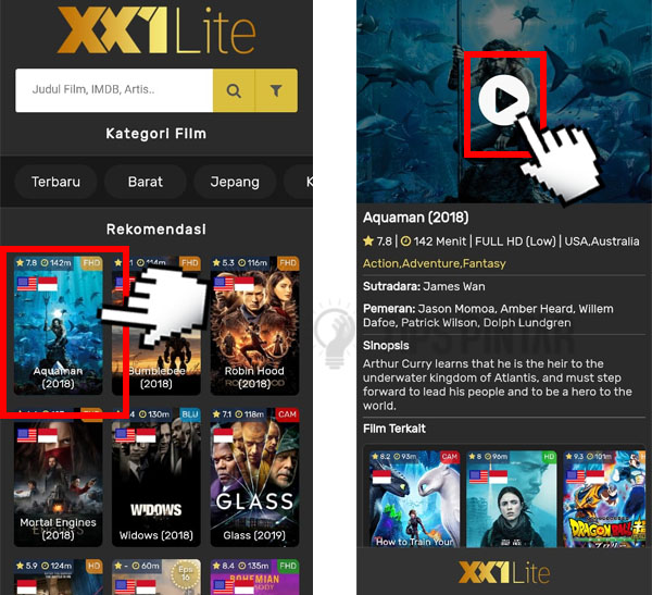 How to download movies on IndoXXI (fast and uncomplicated