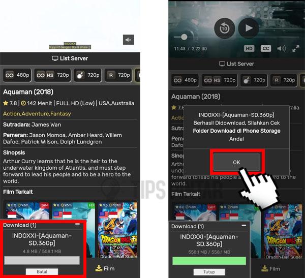 Cara Download Film di Indoxxi Gratis (Dijamin Berhasil)