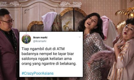 10 Cuitan Twitter Tentang #CrazyPoorAsians yang Bikin Kamu Ngakak 5