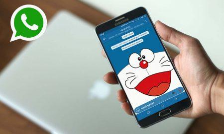 Cara Mengganti Tema WhatsApp Menjadi Tema Doraemon 5