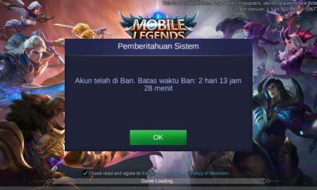 Cara Ganti Akun Banned