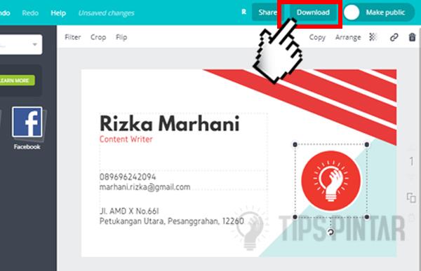 Cara Membuat Kartu Nama Online