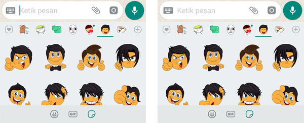 Aplikasi Stickers For WhatsApp