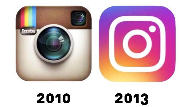 Perubahaan Logo Instagram