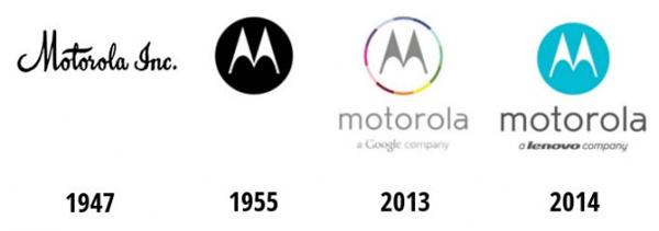 Perubahan Logo Motorola