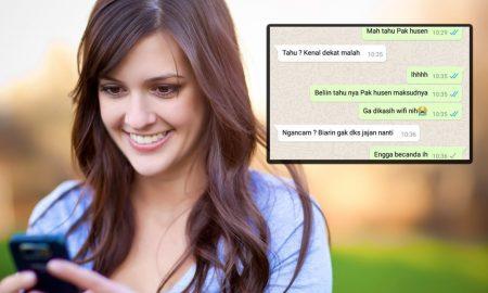 Percakapan Lucu Orangtua dengan Anaknya di WhatsApp
