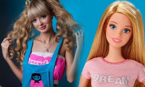 Wanita Cantik Mirip Boneka Barbie