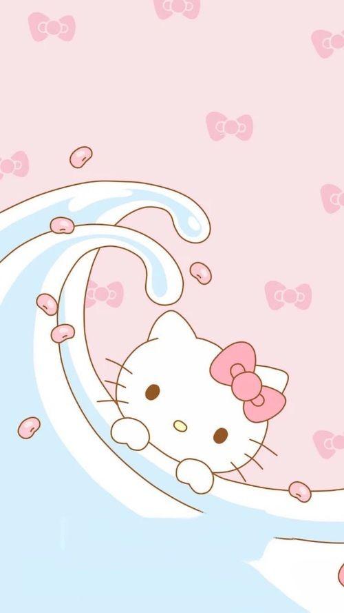 Wallpaper Hello Kitty