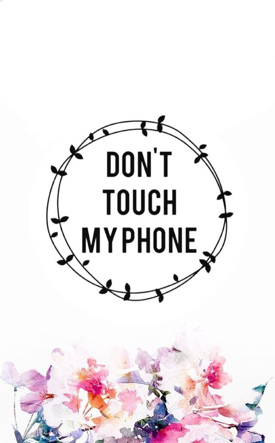 Dont Touch MyPhone