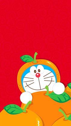 Doraemon Menjadi Buah