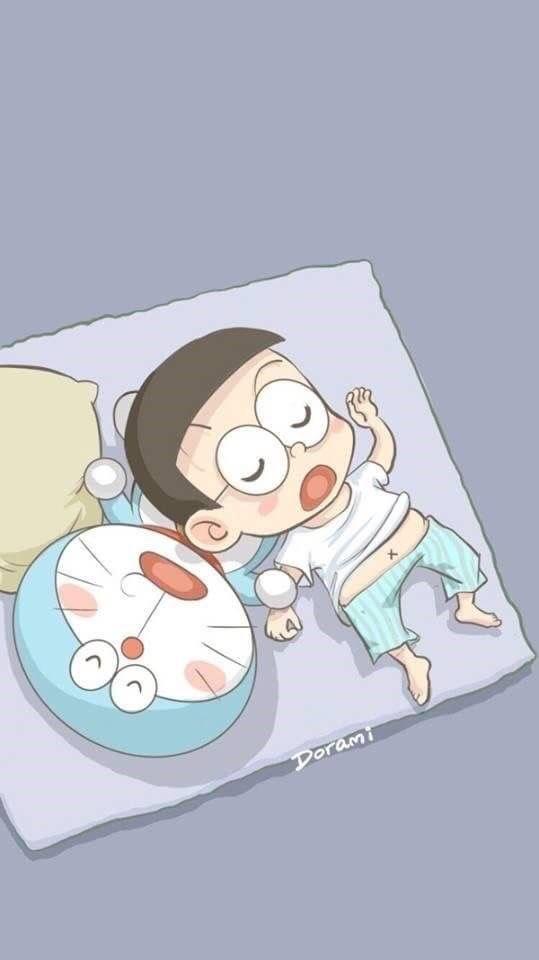 Doraemon Nobita Tidur