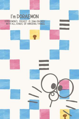 Doraemon kotak-Kotak
