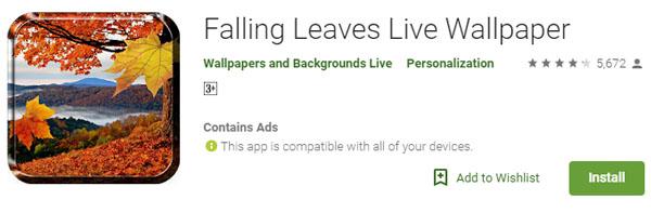 Aplikasi Wallpaper Bergerak