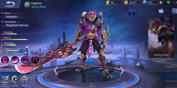 Hanzo - Hero Mobile Legends