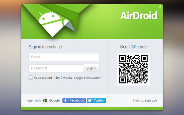 Pemasangan Aplikasi AirDroid
