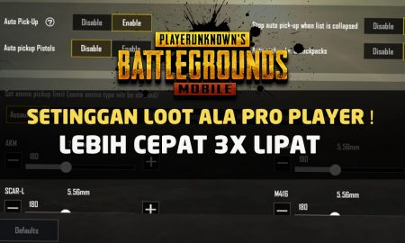 Settingan Auto Pick Up PUBG Mobile