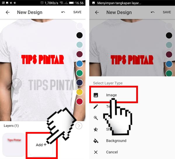 Cara Desain Baju/Kaos di HP