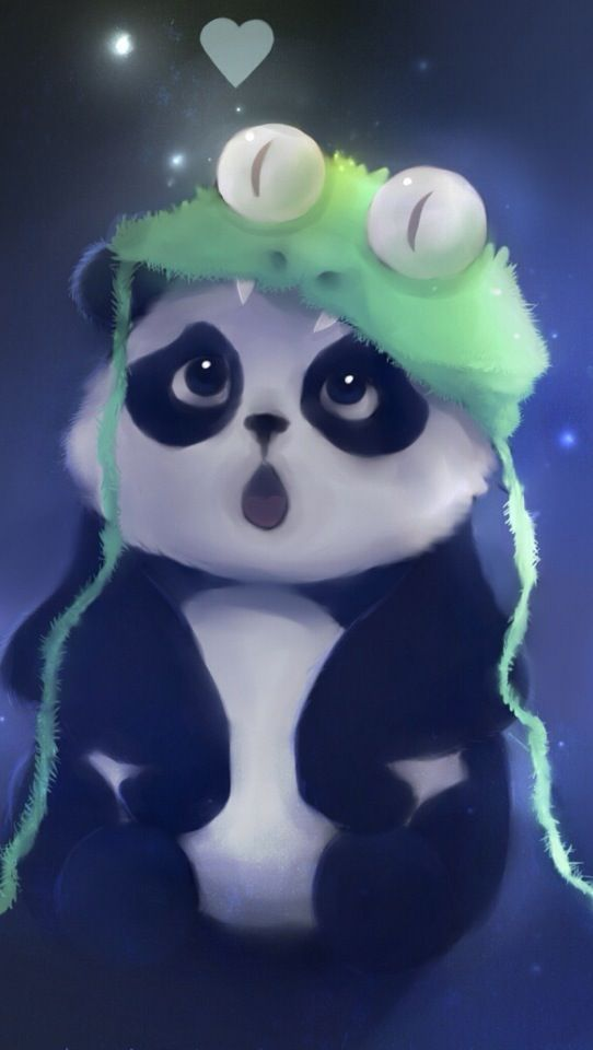 Panda Is Shocked