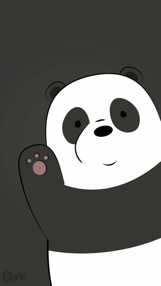 Panda Say Hello