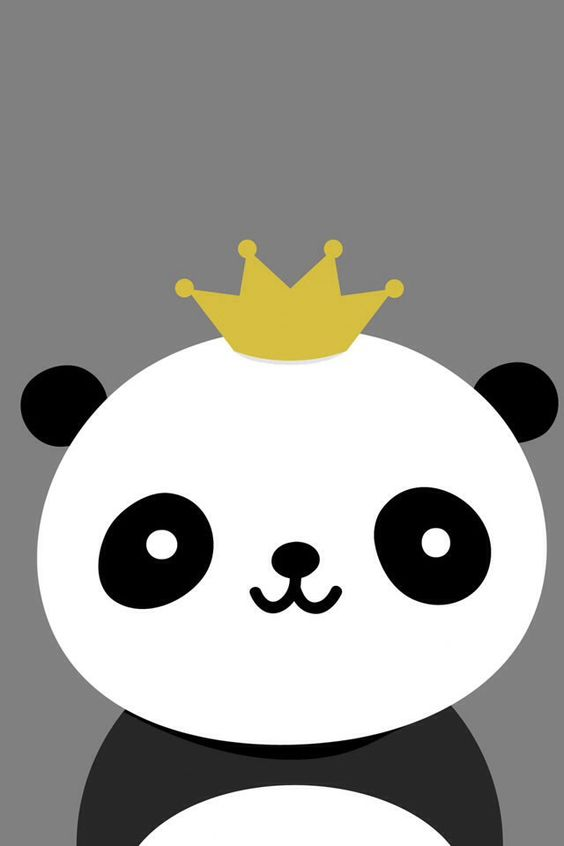 Panda With A Crown