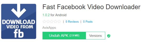 Aplikasi Download Facebook