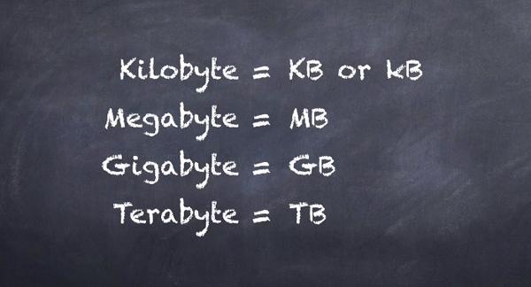 Apa Itu GB. KB, MB