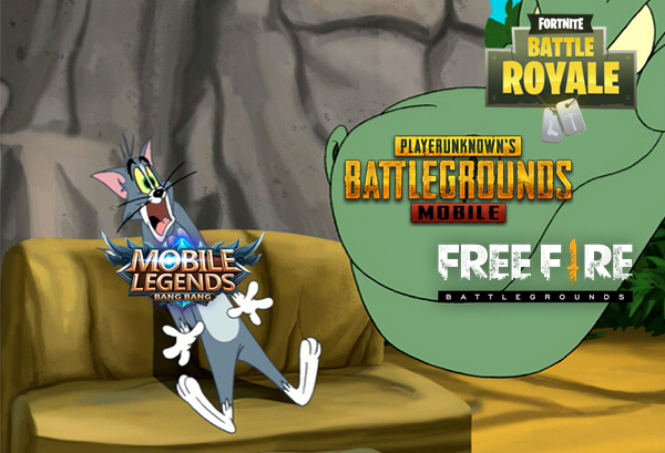 Battle Royale vs MOBA
