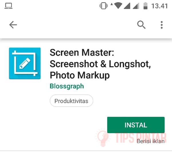 Install Screen Master